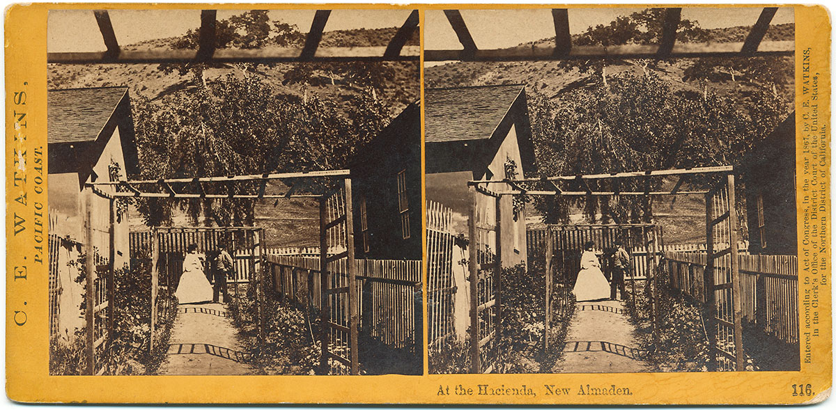 Watkins #116 - At the Hacienda, New Almaden