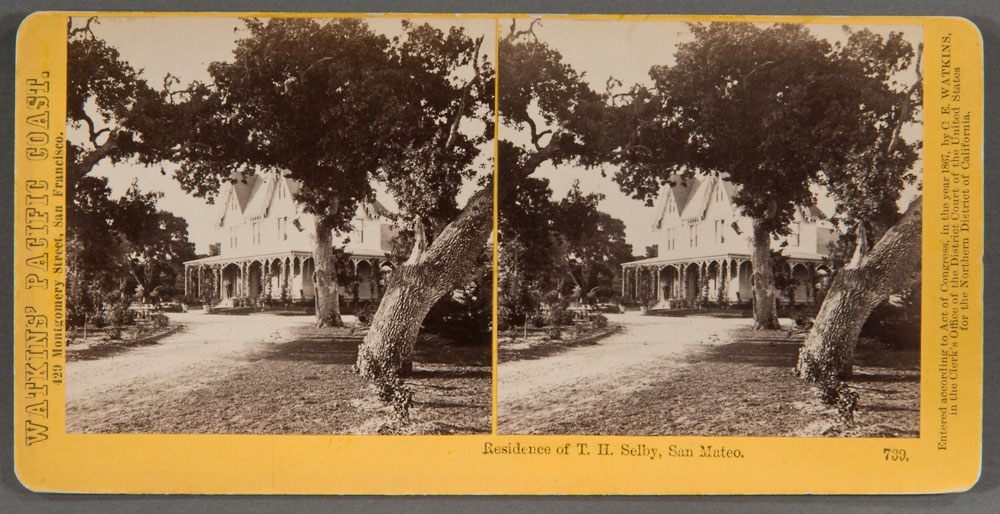 Watkins #739 - Residence of T.H. Selby, San Mateo