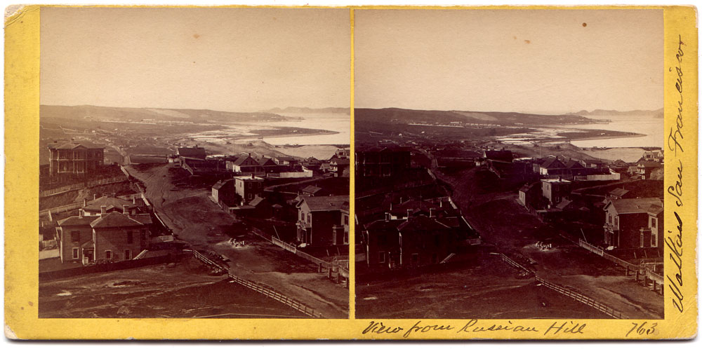 Watkins #763 - Panorama from Russian Hill, San Francisco, No. 2