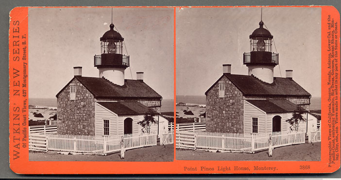 Watkins #3868 - Point Pinos Light House, Monterey, Cal.