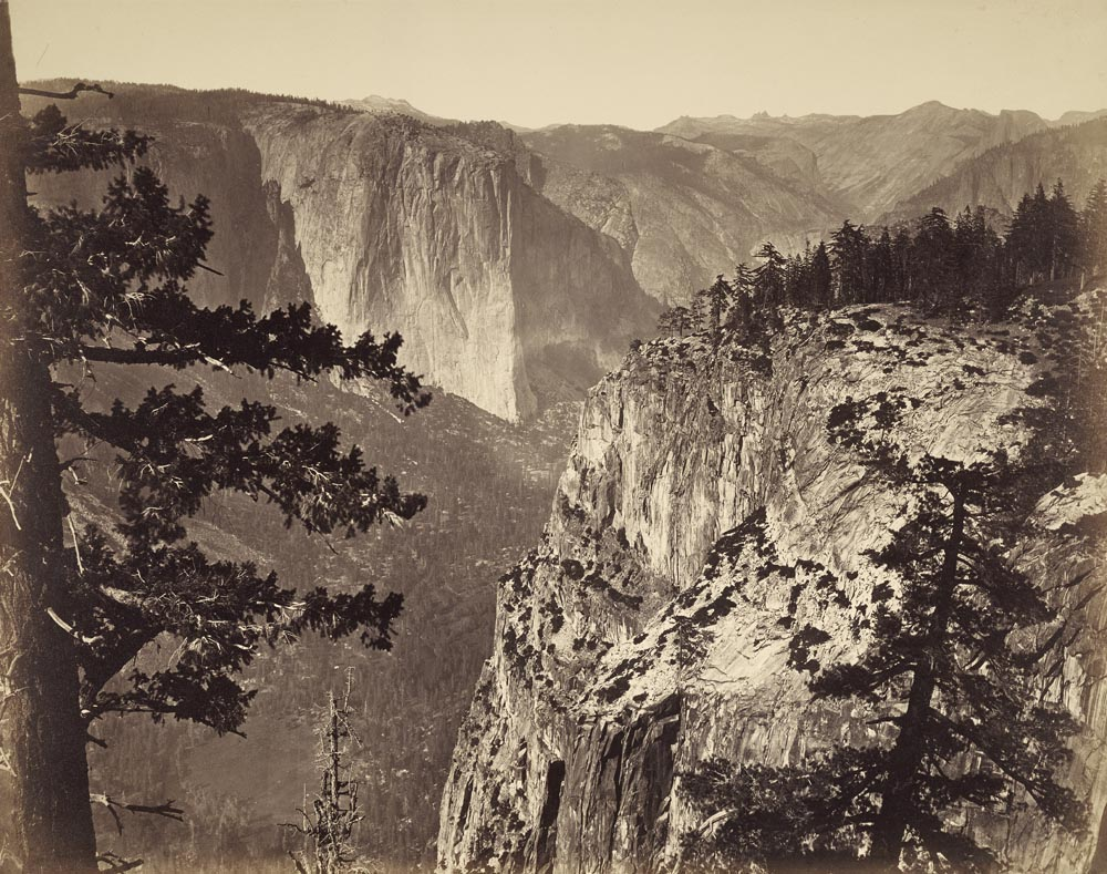 Watkins #1 - First View of Yosemite Valley from Mariposa Trail