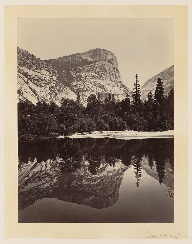 Watkins #75 - Mirror Lake, Yosemite