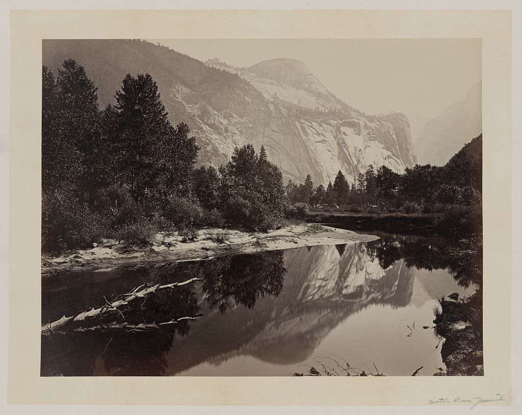 Watkins #57 - Mirror View, Yosemite, North Dome