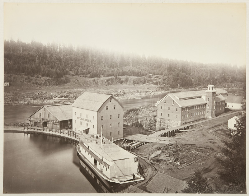 Watkins #415 - Flour and Woolen Mills, Oregon City, Oregon