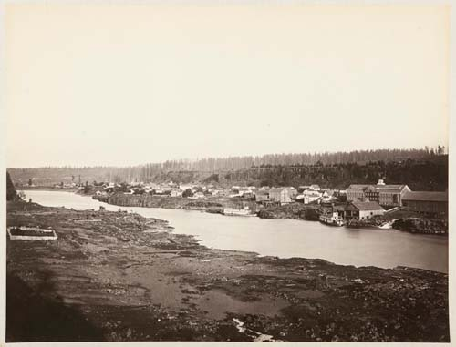 #410 - Oregon City and the Willamette Falls, Oregon (A)