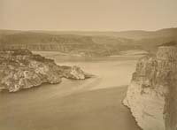S-43 - The Passage of The Dalles, Columbia River, Oregon
