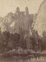 827 - Cathedral Spires, Yosemite