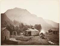 428 - Oregon Steam Navigation Company Works, Lower Cascades, Washingtin Territory