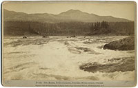 D 164 - The Rapids, Upper Cascades, Columbia River Scenery, Oregon.