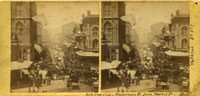 589 - San Francisco - Montgomery St from Market St - 4th July 1864