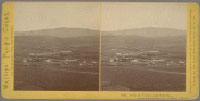 1847 - City of Vallejo and Suburbs. From the residence of A.D. Wood. (No. 9)