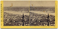 1205 - Panorama of Portland and the Willamette River, Oregon #5
