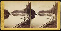 1298 - The Tooth Bridge, O. R. R., Cascades, Columbia River