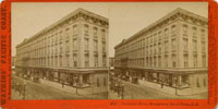 1735 - Occidental Hotel, Montgomery Street Front, S.F.