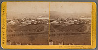 1849 - City of Vallejo and Suburbs. From the residence of A.D. Wood. (No. 11)