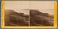 1866 - Mare Island and Vallejo, from the Arsenal