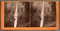 E3 - Multnomah Falls, 700 ft., Columbia River Scenery, Oregon