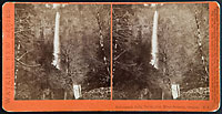 E4 - Multnomah Falls, 700 ft., Col. River Scenery, Oregon