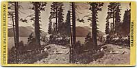 132 - Donner Lake, Peak and Pass, from Wagon Road