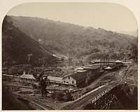 130 - General View of the Smelting Works, New Almaden