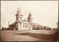 1150 - Los Angeles and Independence Railroad Depot, Fifth and Alameda Streets, Los Angeles County
