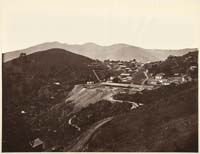 131 - The First View of the Mine, looking South, New Almaden